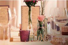 Love Buchstaben & Wort für Hochzeitsdekoration #weddstyle