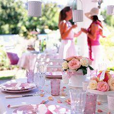 Pastel garden party