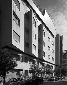 Casa il Girasole, Rome. Luigi Moretti, 1949-50