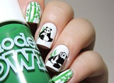"<p>Via <a href=""http://nailartgallery.nailsmag.com/marinelp/photo/384955/pandas-nails"">Nail Art Gallery</a>. </p>"