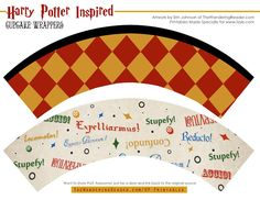 Lizy B: Free Harry Potter Party Printables!!!