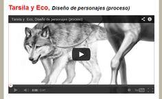 """Las """"centáurides"""" son la versión femenina de los centauros... http://yo.robledoarte.com/blog/tarsila-y-eco-dise%C3%B1o-de-personajes-proceso"""