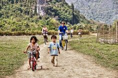 Biking in Laos | Biking Vang Vieng, Laos | Mark Kelly | Flickr