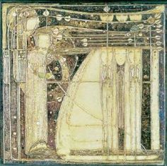 Margaret Macdonald Mackintosh inspir Gesso 8 House Art Lover Charles R Macintosh