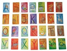 Illustrated Alphabet Cards Combine Waldorf Beauty and Learning
