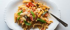 Make pasta with eggplant and tomatoes from the chef of Rucola restaurant in Brooklyn.