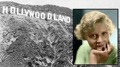 Actress Peg Entwistle came to Hollywood in 1932 with hopes of stardom in motion pictures. But a lifetime of tragedy and disappointment weakened her battle against depression, and on a September night of that year, she climbed the 50-foot H of the famous Hollywood sign... and jumped to her death.  Since then, Pegs ghost has been seen on several occasions wandering the paths of the park below the iconic sign -- the symbol of her broken dreams