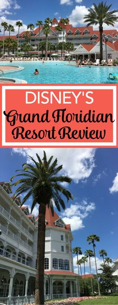 Grand Floridian Resort Review: Considering a stay at Walt Disney World at the Grand Floridian Resort & Spa? Get all the details on this deluxe hotel in this complete review - restaurants, hotel events and common spaces, rooms, pools, and more.