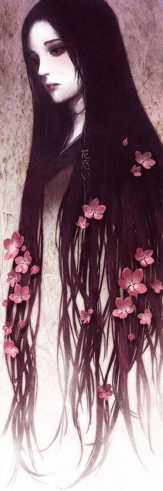 Mushishi-Hana Madoi by dorset.deviantart.com on @deviantART