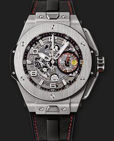 Big Bang  Ferrari Titanium 45mm