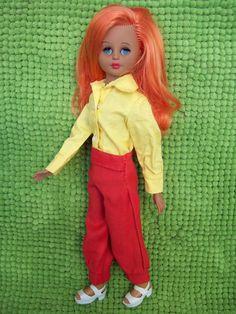 Clone di Corinne Italocremona IC, anni '60, capelli rossi, altamoda | eBay
