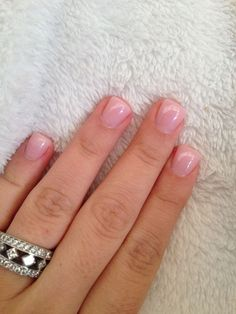Installation of acrylic or gel nails - My Nails Rounded Acrylic Nails, Red Acrylic Nails, Pink Nails, My Nails, Acrylic On Natural Nails, Glitter Nails, Short Square Acrylic Nails, Short Square Nails, Acrylic Gel