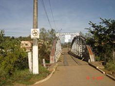 Ponte em Soledade de Minas, MG, Brasil