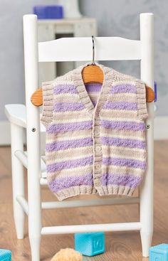 Here at Let's Knit, we can't resist a good baby project, and we're sure most people would agree with us. A great choice for both boys and girls, this waistcoat is made using super-soft yarn designed specially with delicate skin…