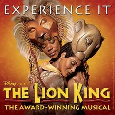 The Lion King in Hollywood, CA, 2001 AWESOME MUSICAL...