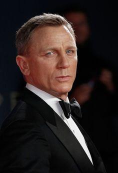 Daniel Craig at the Royal London Premiere of Spectre [2015]