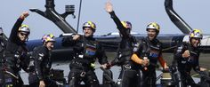 Incredible comeback in the America's Cup.