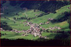 Moso, Moos nella valle di Sesto Pusteria, visto dai Prati di Croda Rossa.