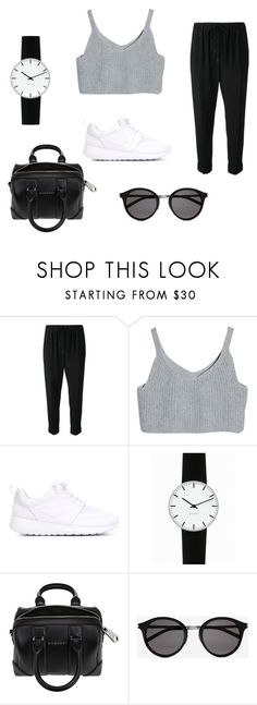 """Sport Style"" by emyhr on Polyvore featuring mode, Alexander Wang, NIKE, Rosendahl, Givenchy, Yves Saint Laurent, vintage, StreetStyle et tumblr"