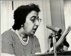 Naziha Dulaimi was an early pioneer of the #Iraqi #feminist movement. She was a cofounder and first president of the #Iraqi #Women's League, the first #woman minister in #Iraq's modern #history, and the first woman cabinet minister in the #Arab world.