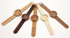 The First Soft Strapped Watch Made With 100% All-Natural Wood