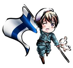 Day 29: Character You Want Personified As A Cat. Finland because he'd be so cuddly and cute and the nicest cat ever!