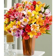 100 Blooms of Peruvian Lilies (with FREE glass vase) - Flowers --- http://www.amazon.com/Blooms-Peruvian-Lilies-FREE-glass/dp/B007GGAKLA/?tag=lovyoupet0e-20