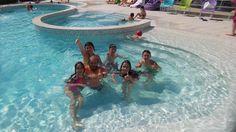 Tutti nella nostra piscina riscaldata!! :-)