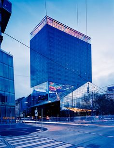 The incredible-looking Sofitel Vienna Stephansdom. Architect: Jean Nouvel Artist: Pipilotti Rist
