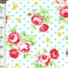 Floral Collection Antique Rose by Lecien @ Fabric Shack