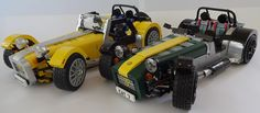 LEGO Caterham Super Seven set is about to arrive. Find out more about this new and innovative Lego set from this post. Caterham Super 7, Caterham Seven, Caterham Lego, Lego Cars, Lego Wheels, Lego Videos, Lego Store, All Lego, Tonneau Cover