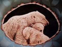 Polar Bear Pyrography - What's