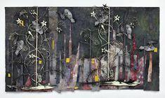 "Kiristine Roepstorff ""Forms of the Below"" (2009) collage"