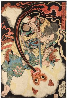 1832...........BY UTAGAWA KUNIYOSHI..........SOURCE DRAWPAINTPRINT.TUMBLR.COM..............