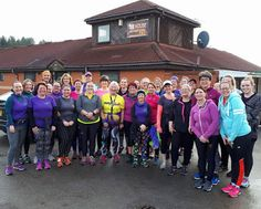 Joining a running group in Nottingham!