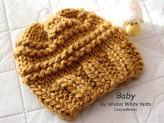 Knit baby hat, Infant winter hat, childrens knit hat, Kids knit hat, Chunky Knit Kids Hat, Knit Baby Beanie, available in 10 colors by WinterWhiteKnits on Etsy https://www.etsy.com/listing/206585424/knit-baby-hat-infant-winter-hat