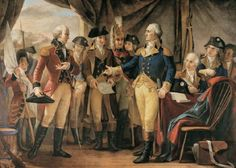 19 October 1781 - Surrender at Yorktown - Cornwallis surrounded on land and sea by Americans and French and surrenders at Yorktown, Virginia