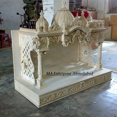 MA Enterprise sell Wooden Mandir, wooden temple, pooja mandir & pooja temple for home, wooden temple for pooja mandir in USA, Australia & India Wooden Temple For Home, Temple Design For Home, Home Temple, Temple India, Hindu Temple, Mandir Decoration, Ganapati Decoration, Mandir Design, Pooja Room Design