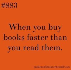 This is so me!
