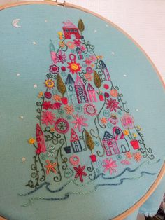 Beautiful embroidery from Stitchety - Stitch