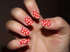 15 interesantes Diseños de Uñas Rojas - Manicure