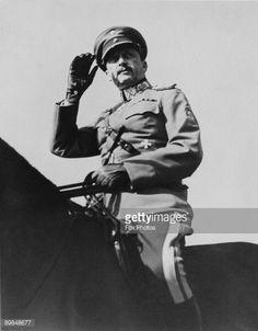 News Photo : Carl Gustaf Emil Mannerheim , Commander-in-Chief...