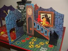 The Denys Fisher Haunted House board game - I always wanted this, but had to settle for playing with my friend's one when she brought it into school on toy days 1970s Childhood, My Childhood Memories, Childhood Toys, Sweet Memories, 70s Board Games, Vintage Board Games, Game Boards, 1970s Toys, Retro Toys
