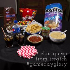 You\'re sure to get #GameDayGlory if you serve this choriqueso from scratch to your friends for the Big Game! #ad | recipe from chattavore.com