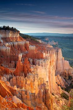 Agua Canyon at First Light by Adam Barker/AdamBarkerPhotography.com, via 500px; Bryce Canyon National Park, Utah