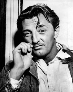 """Robert Mitchum.....a rugged guy, from when """" a man was a man, a dame was a dame, and they were both glad of it!"""""""