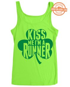 62a1a189889 The perfect tank to wear during any St. Patrick s Day races! Run Or Dye
