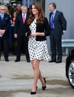 love kate middleton's maternity style