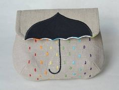 Such a cute sewing/embroidery idea!