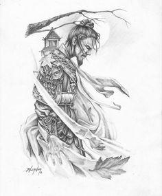 Guerrero por toniblanfer - Personajes | Dibujando.net